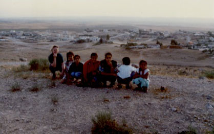 View of Hura, 1990.