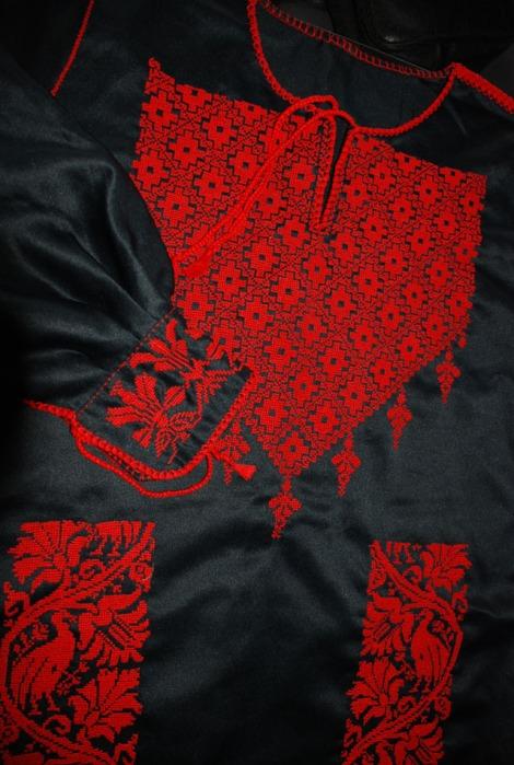 Hand Embroidered Bedouin Wedding Dress