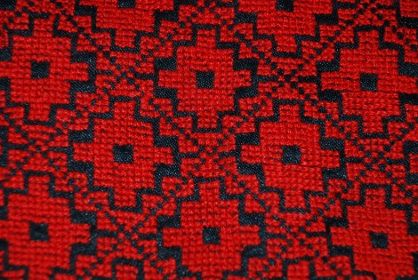 Hand Embroidered Bedouin Wedding Dress -Detail