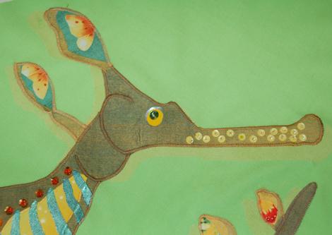 Weedy Sea Dragon Face Detail