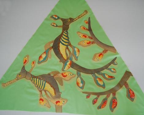 Weedy Sea Dragon Patchwork piece