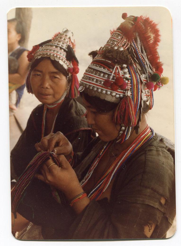 Akha Village Sewing Circle 1984