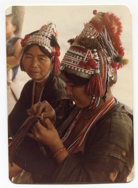 Akha Village Sewing Circle 1984