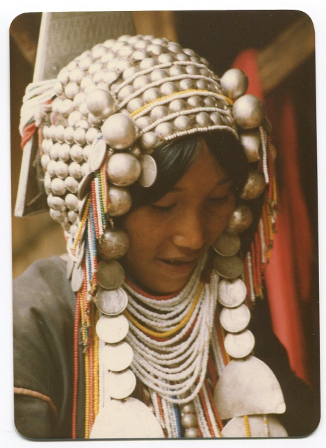 Young Akha Woman