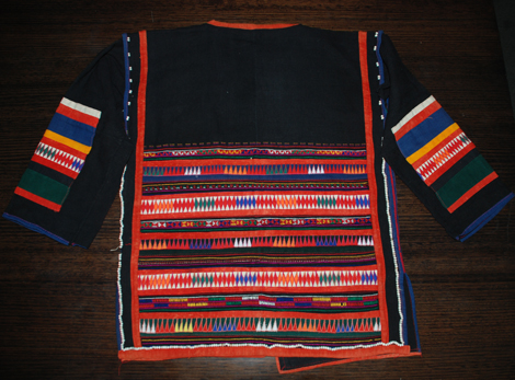 Akha Tribe Womans jacket